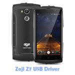 Download Zoji Z7 USB Driver