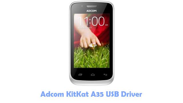 Adcom KitKat A35 USB Driver
