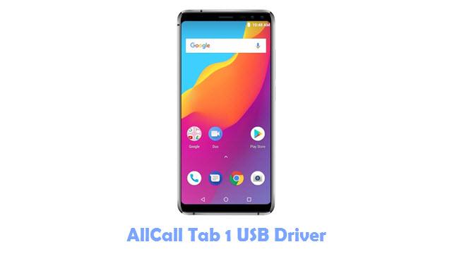 AllCall Tab 1 USB Driver