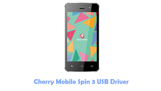 Download Cherry Mobile Spin 3 USB Driver