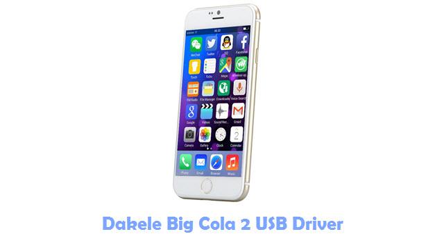 Dakele Big Cola 2 USB Driver