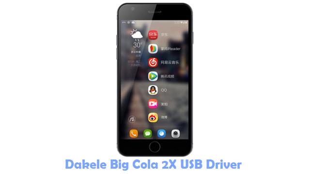 Dakele Big Cola 2X USB Driver