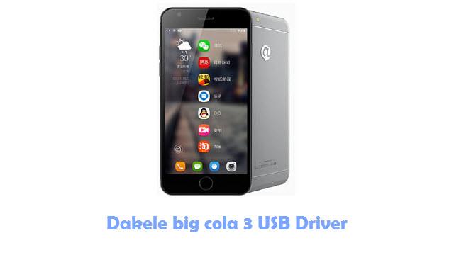 Dakele big cola 3 USB Driver