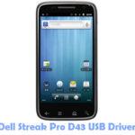 Dell Streak Pro D43 USB Driver