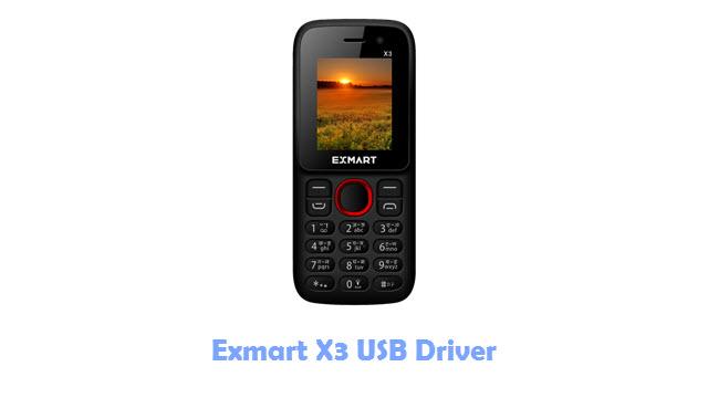 Exmart X3 USB Driver