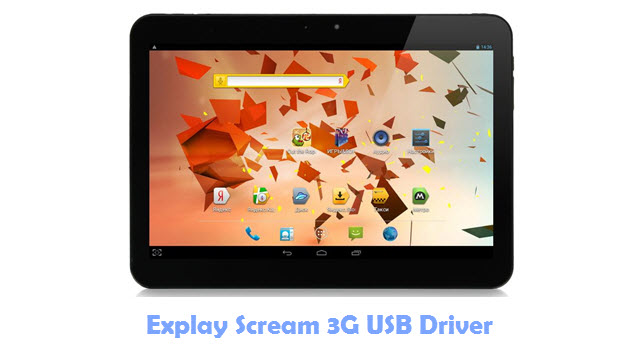 Download Explay Scream 3G USB Driver