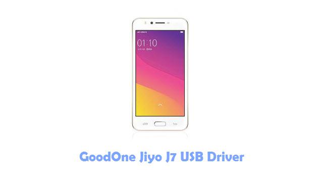 Download GoodOne Jiyo J7 USB Driver