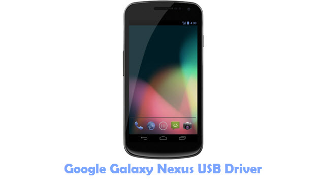 Google Galaxy Nexus USB Driver
