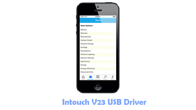 Download Intouch V23 USB Driver
