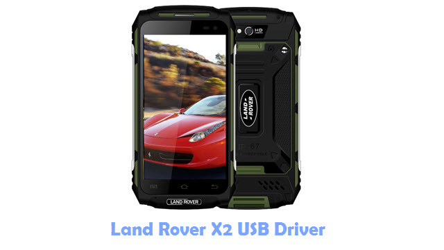 Land Rover X2 USB Driver