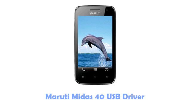 Maruti Midas 40 USB Driver