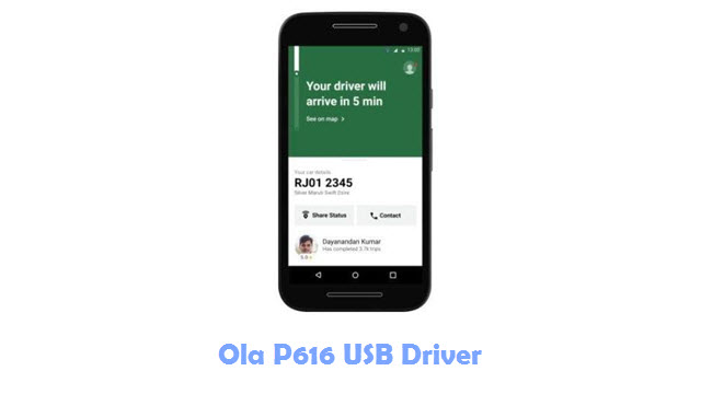 Download Ola P616 USB Driver