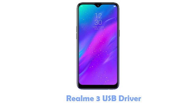 Download Realme 3 USB Driver