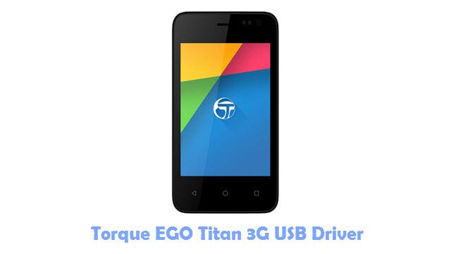 Torque EGO Titan 3G USB Driver