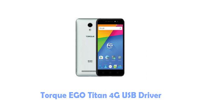 Torque EGO Titan 4G USB Driver