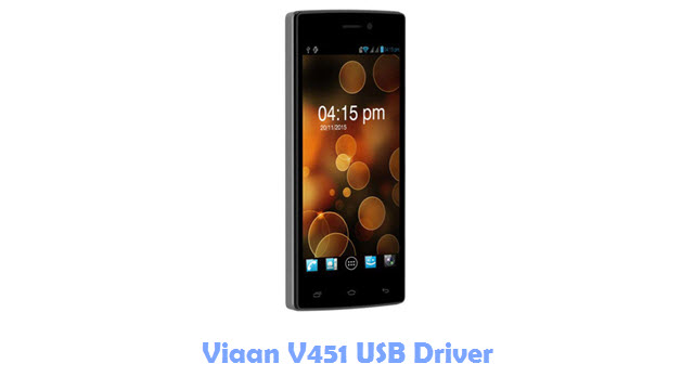 Download Viaan V451 USB Driver