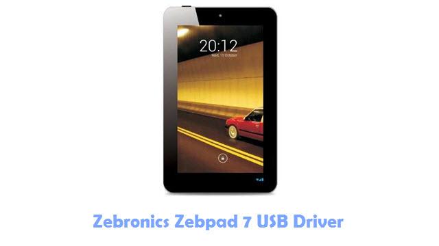 Zebronics Zebpad 7 USB Driver