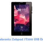 Download Zebronics Zebpad 7T500 USB Driver