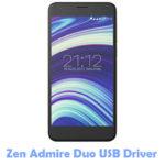Download Zen Admire Duo USB Driver