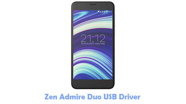 Zen Admire Duo USB Driver
