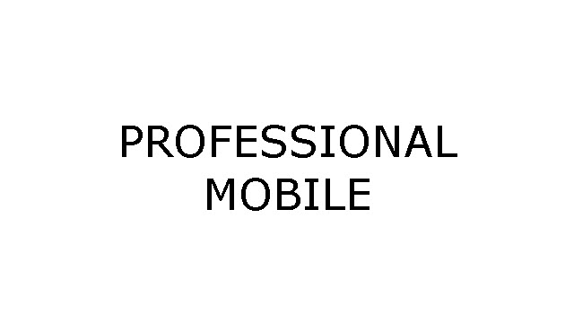 Professional Mobile USB Drivers
