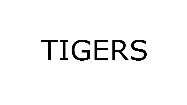 Tigers USB Drivers