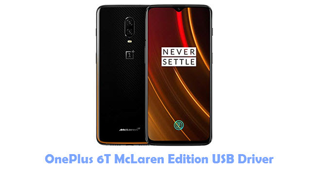 Download OnePlus 6T McLaren Edition USB Driver
