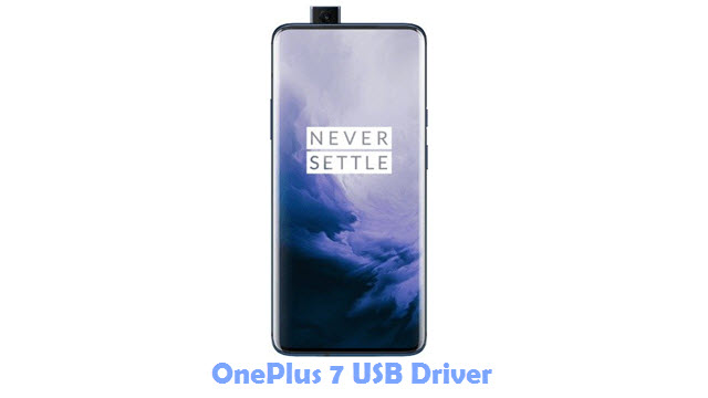 Download OnePlus 7 USB Driver