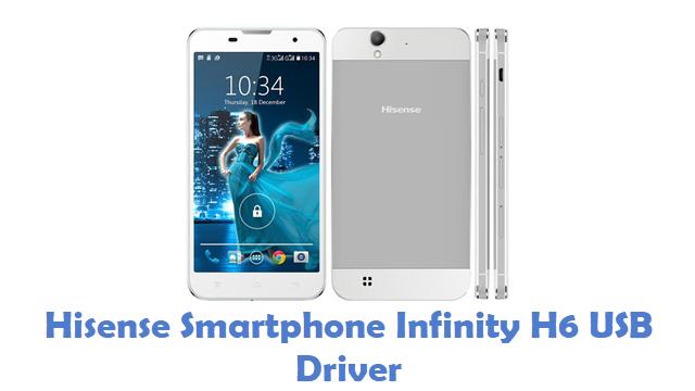 Hisense Smartphone Infinity H6 USB Driver