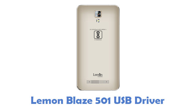 Lemon Blaze 501 USB Driver