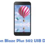 Lemon Blaze Plus 502 USB Driver