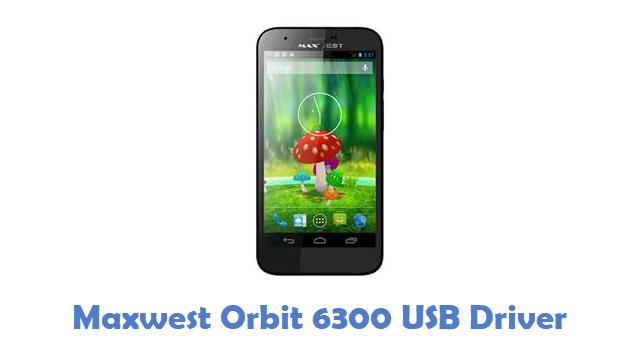 Maxwest Orbit 6300 USB Driver