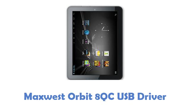 Maxwest Orbit 8QC USB Driver
