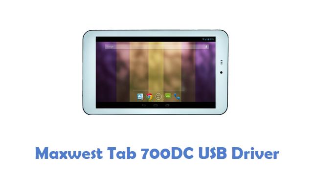 Maxwest Tab 700DC USB Driver