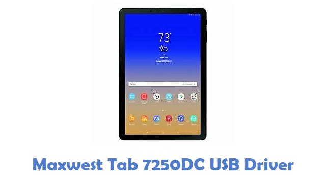 Maxwest Tab 7250DC USB Driver