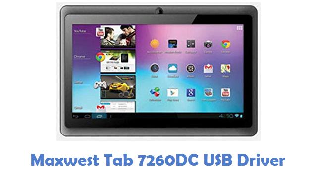 Maxwest Tab 7260DC USB Driver