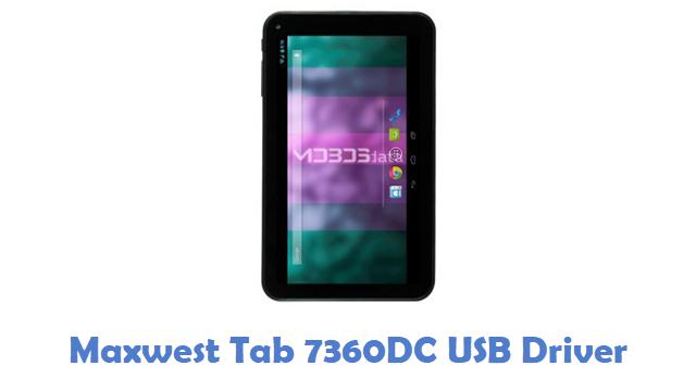 Maxwest Tab 7360DC USB Driver