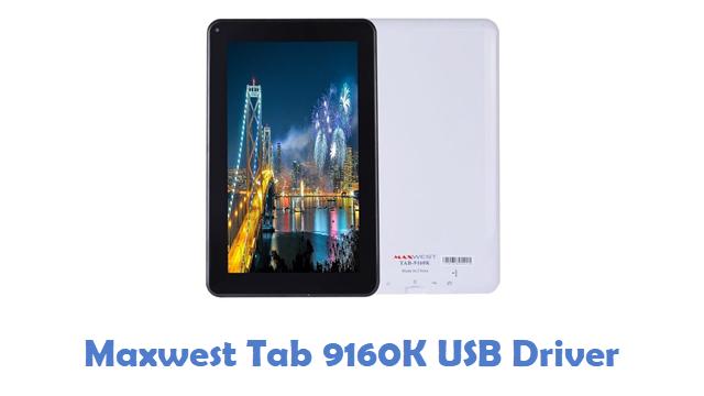 Maxwest Tab 9160K USB Driver