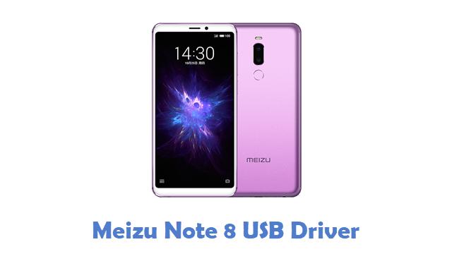 Meizu Note 8 USB Driver