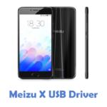 Meizu X USB Driver
