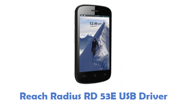 Reach Radius RD 53E USB Driver