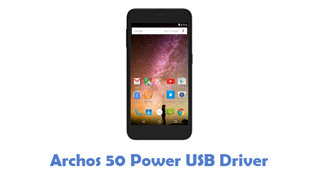 Archos 50 Power USB Driver