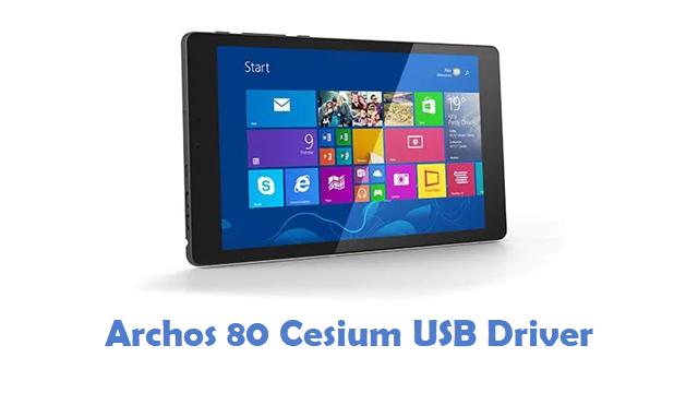 Archos 80 Cesium USB Driver
