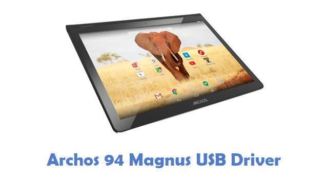 Archos 94 Magnus USB Driver