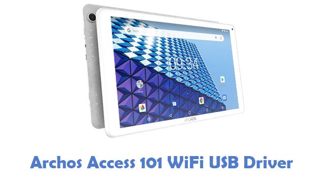 Archos Access 101 WiFi USB Driver