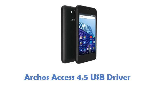 Archos Access 4.5 USB Driver