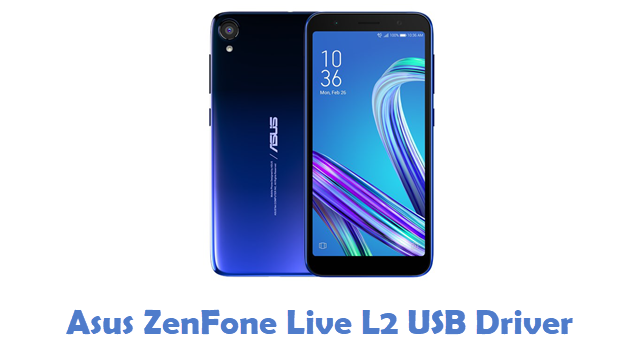 Asus ZenFone Live L2 USB Driver