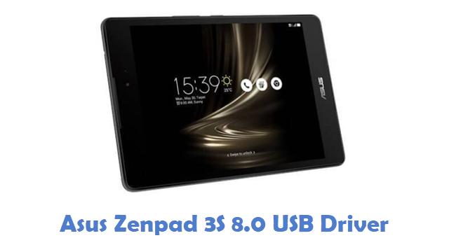 Asus Zenpad 3S 8.0 USB Driver