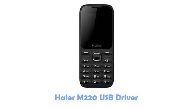 Download Haier M220 USB Driver