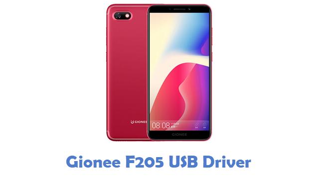 Gionee F205 USB Driver